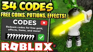 34 WORKING CODES + THUNDER BLADE LOCATION! | Treasure Quest (ROBLOX)