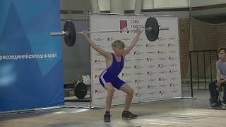Мирсков Евгений, 12 лет, вк 45 Рывок 30 кг