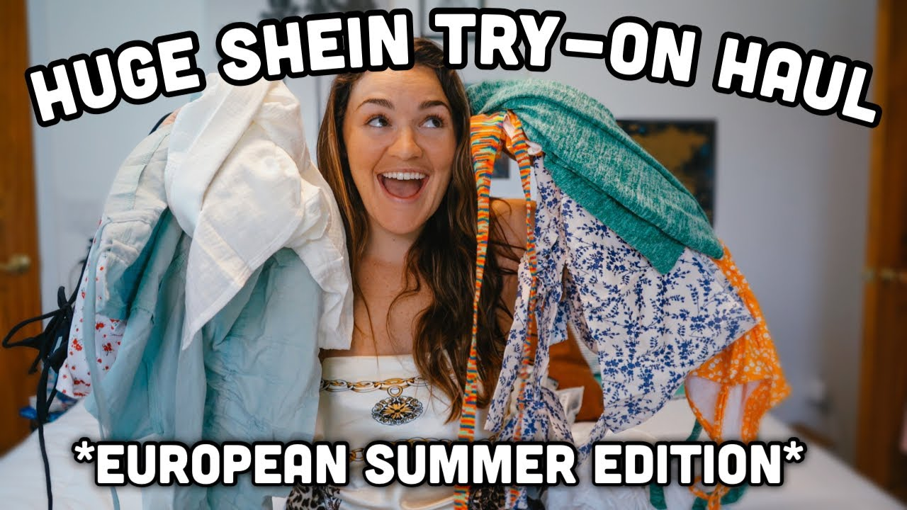 HUGE Shein Summer TRY-ON HAUL 2021!! | *Men's AND Women's Vacay Clothes*