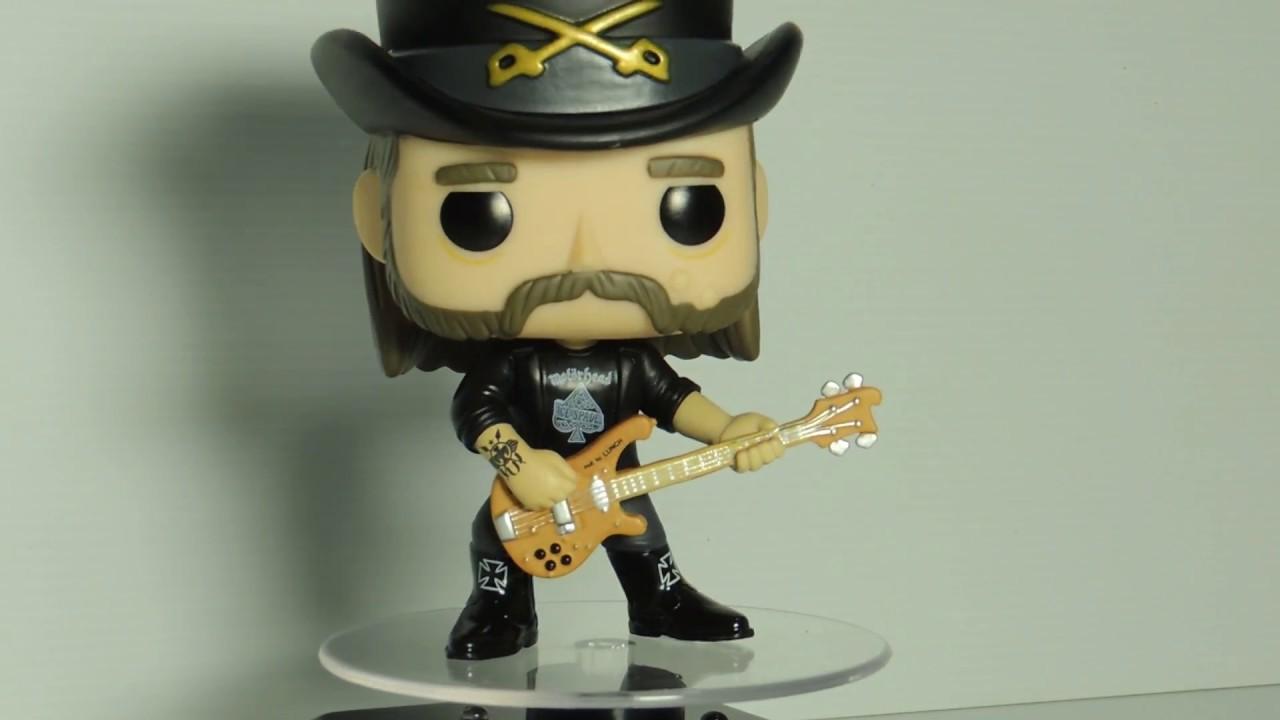 Funko POP Rocks Motorhead Lemmy Kilmister