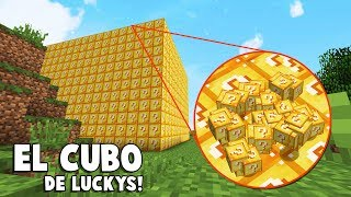 EL CUBO DE LUCKY BLOCKS HA VUELTO! 🤣😱 BATALLA DE LUCKY BLOCKS! - MINECRAFT