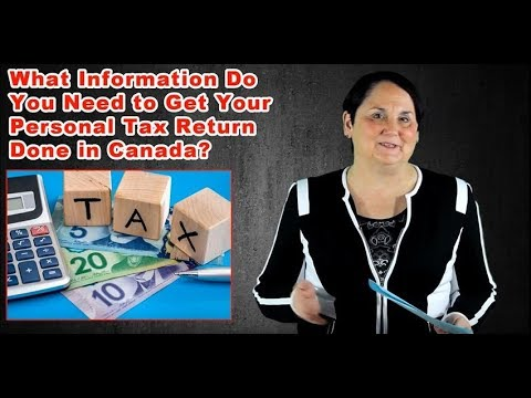 Filing Your Personal Tax Return In Canada (2018)