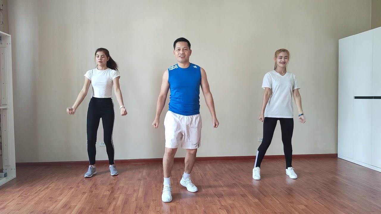 การเต้นแอโรบิกพื้นฐานง่ายๆ สไตล์ อ.โอ EP.1