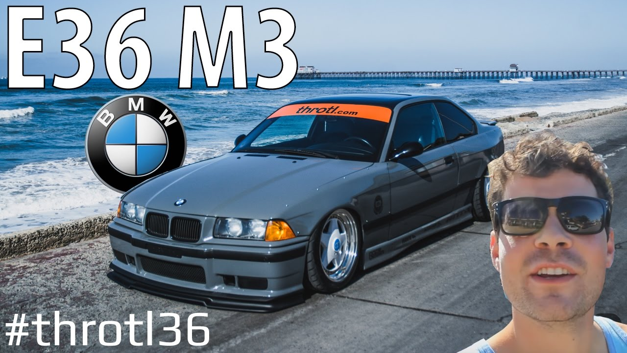 Build A BMW >> BMW E36 M3 Project Build 001: #Throtl36 - YouTube
