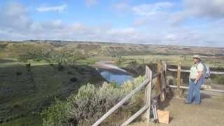 Plein Air Painting in the Badlands of  North Dakota