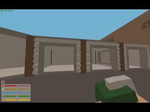 Unturned 3 8 6 0 garage door bug stacking gates youtube for Door unturned