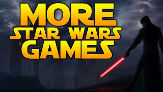 Star Wars Gaming News: MORE STAR WARS GAMES INCOMING - Teaser Within 6 Months