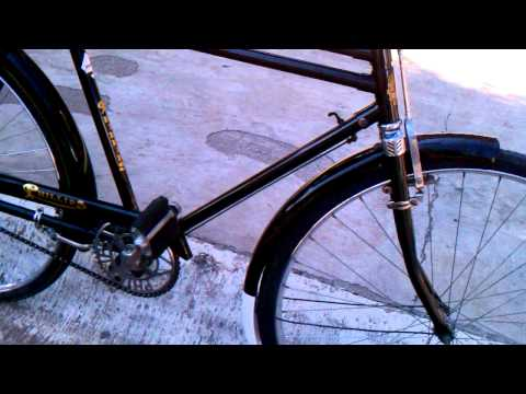 Bicicleta antigua phillips,  vintage phillips bike