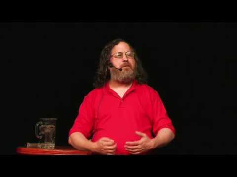 Richard Stallman in Oslo 2009