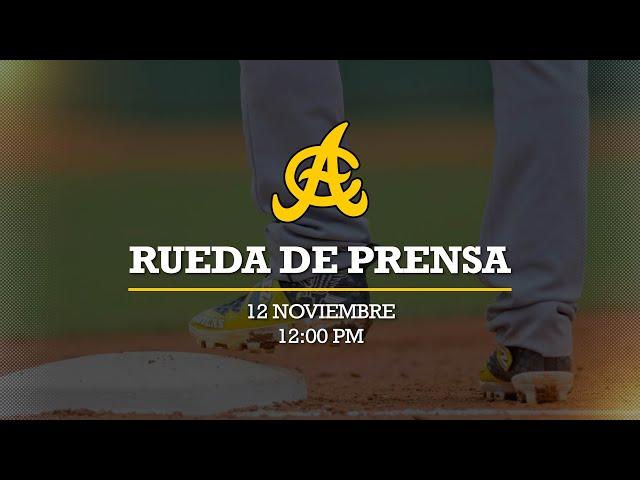 Rueda de Prensa Águilas Cibaeñas 2020