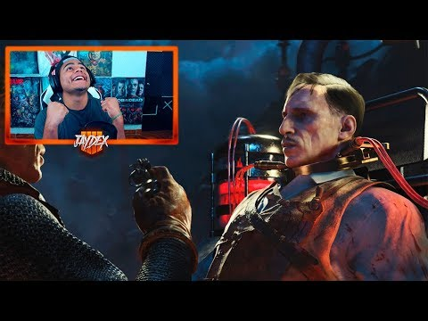 Boss Fight + Reaccion a la cinematica! Easter Egg Blood Of The Dead! Call Of Duty BlackOps 4 Zombies
