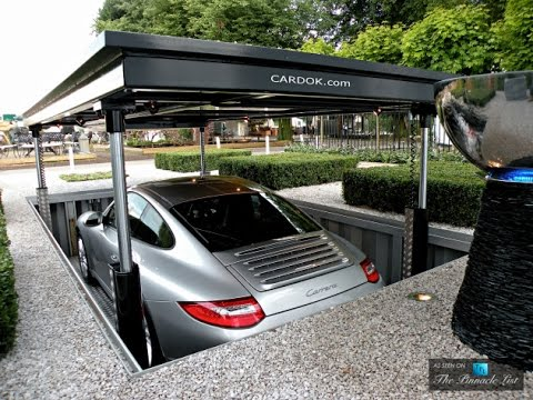 Amazing hidden luxary car garage design 2017 in canada for Garage designs canada