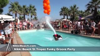 nikki beach st tropez funky groove party 7282012