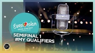 Eurovision Song Contest 2018 - Semifinal 1 Qualifiers