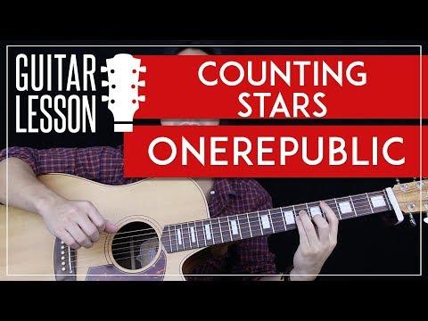 Counting Stars Guitar Tutorial - OneRepublic Guitar Lesson 🎸 |Easy Chords + No Capo + Guitar Cover|