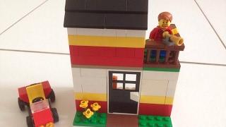 Como construir uma casa simples de Lego 4