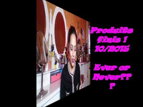 Produits terminés! Ever or Never? #3de YouTube · Durée:  29 minutes 31 secondes · vues 588 fois · Ajouté le 06.01.2016 · Ajouté par Tahoula CocOOning