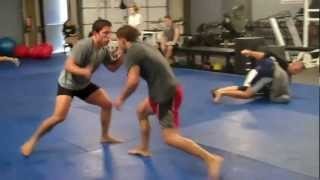 Dollamur and Swain visits Urijah Faber's Ultimate Fitness MMA gym