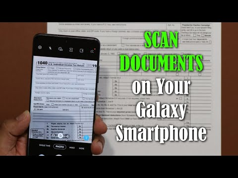 Built-In DOCUMENT SCANNER For Your Samsung Galaxy Smartphone (S20, Note 10, S10, Etc)