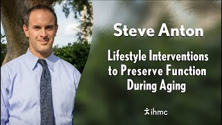 This lecture is part of the ihmc evening series. https://www.ihmc.us/life/evening_lectures/ preserving mobility central to maintaining a high qual...