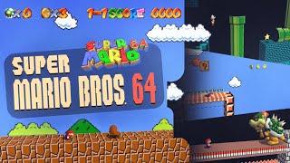 Super Mario Bros 64 | SMB1 remade in SM64