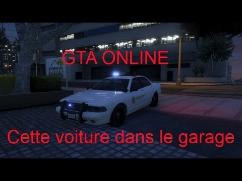 gta 5 online fr patch comment avoir les v hicules de police dans son garage youtube. Black Bedroom Furniture Sets. Home Design Ideas
