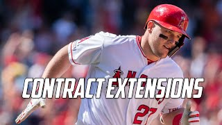 MLB | The Contract Extension Craze