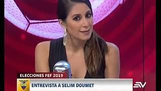 ESTADIO TV 14 01 2019 | Entrevista con Selim Doumet y Frascarelli a Barcelona