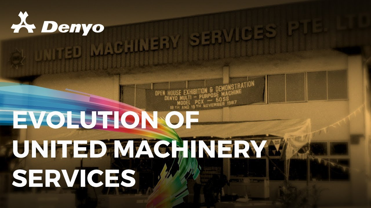 From United Machinery Services to Denyo United Machinery