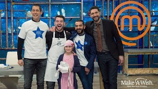 "Athanasia, 9... I wish to live the experience of ""Master Chef""! Make-A-Wish GR"