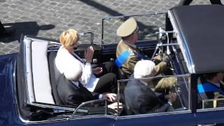 Presidente Mattarella Frecce Tricolori Festa della Repubblica 2015