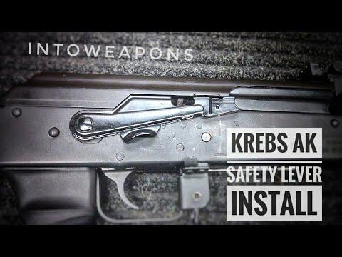 Krebs AK Safety Lever: Installation of AK-47 Safety Lever