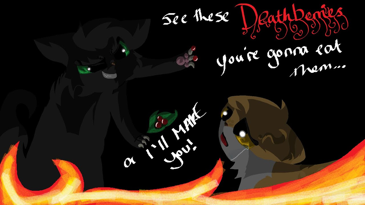 Hollyleaf Leafpool Deathberry Scene