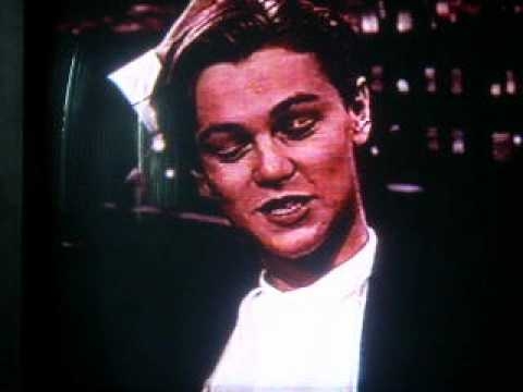 A young Leonardo DiCaprio gets excited about attending his first Oscars on 'The Tonight Show' in '94