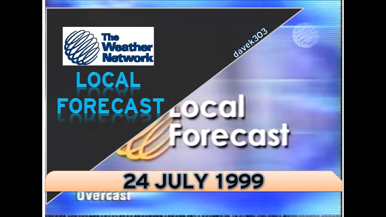 Local Weather Forecast : The weather network local forecast july youtube