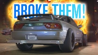 I BROKE ALL MY CARS | NEED FOR SPEED 2015