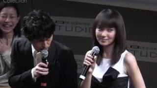 LISMO ドラマ『空にいちばん近い幸せ』完成披露舞台挨拶/矢田亜希子、...