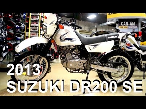 2013 SUZUKI DR200 SE - Revisited Update