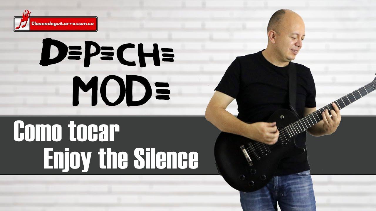 Enjoy the Silence - Depeche mode como tocarla en guitarra acordes ritmo analisis