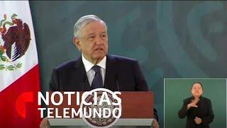 AMLO podría viajar a Estados Unidos para discutir el T-MEC con Trump | Noticias Telemundo