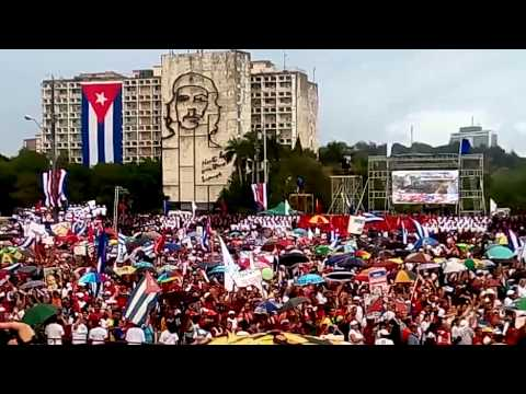 May Day March Cuba 2015