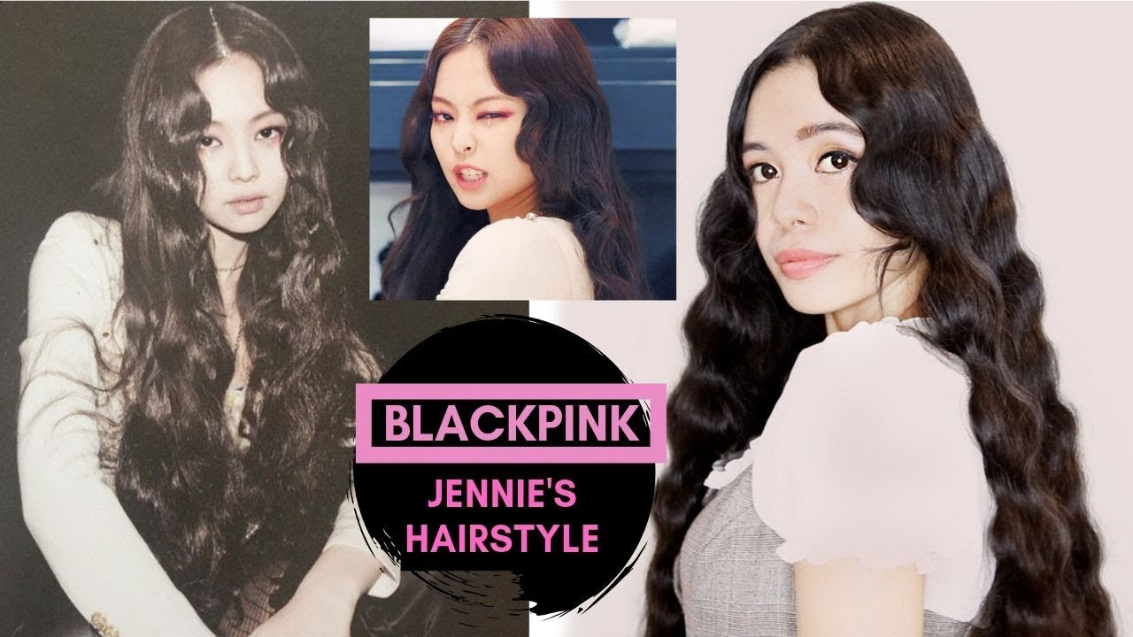BLACKPINK, Kill This Love, Jennie\u0027s Hairstyle ,No Heat S  Waves(INSPIRED)Beautyklove