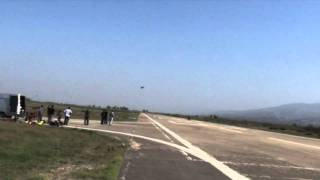 F16 1_6 Scale Flame Out and Emergency Landing