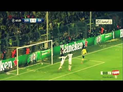 Robert Lewandowski All 4 Goals Vs Real Madrid (Borussia Dortmund 4-1 Real Madrid) 24-04-2013 HD