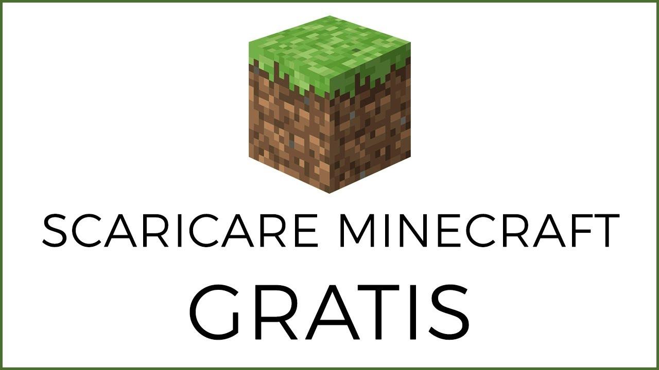 Come si fa a scaricare minecraft senza pagare