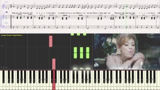 Open Kids - Stop People!(Ноты для фортепиано) (piano cover)
