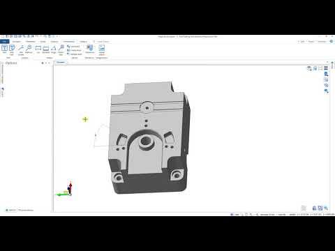 Edgecam Designer – Edycja modelu bryłowego oraz zaślepianie otworów