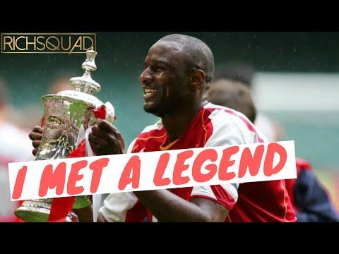 Wow I Just Met Arsenal & France Football Legend Patrick Vieira !!