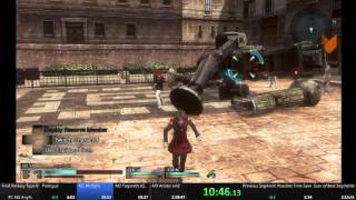 Final Fantasy Type 0 HD PC speedrun 2:14:27