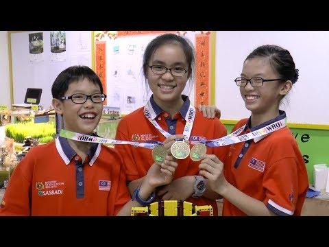 Whiz kids make Malaysia proud by winning international robotics competition